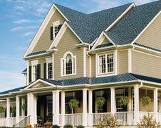 Smooth Lap - Lap Siding - Fiber Cement Siding - CertainTeed - Wheaton Door and Window Certainteed Vinyl Siding, Exterior Siding, Exterior Paint, Hardiplank Siding, Siding Contractors, Siding Colors, Exterior Colors, Exterior Design, Fiber Cement Siding