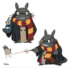 Totoro meets Harry Potter