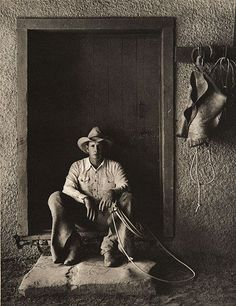 Bert Ancell, Bell Ranch, New Mexico, 1983 by Kurt Markus