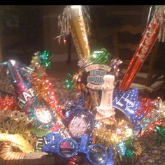 New Years Eve Host Gift Basket