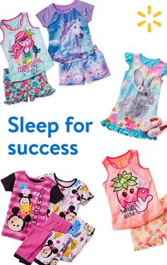 A good school year starts with a good night's sleep. Stock up on pajama sets featuring mermaids, unicorns and other whimsical friends. Shop walmart.com today.