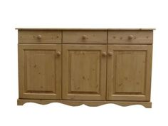 Beautifully hand made pine sideboard manufactured in sunny Cornwall. Dressers, Beautiful Hands, Cornwall, Buffet, Cabinet, Handmade, Furniture, Home Decor, Dresser