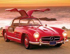 Promo Calendars 2015 - Classic Cars  Vintage Car Calendar - December 2015  1955 Mercedes-Benz 300SL Gullwing — at http://www.promocalendarsdirect.com/calendars/classic-cars.