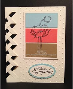 Along Came Stamping: Simply Sketched Braided Card #Stampinup