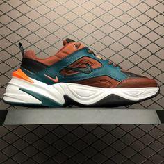 online retailer f1fa2 7df7b Men s Nike M2K Tekno Pueblo Brown Sneaker AV4789-200-4 Sneakers Nike,  Brown. Retro Jordan