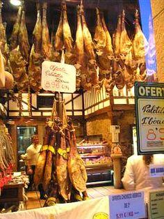 A butcher shop in Salamanca