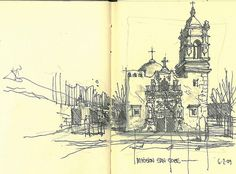 Mission San Jose by Sketchy-G