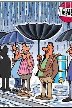 Recycled rainwater? ;-)