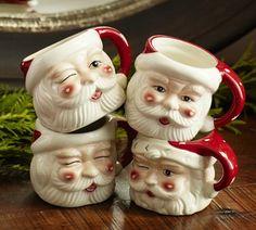 Santa mugs!
