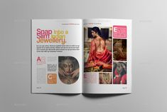 Buy Fashion Magazine by on GraphicRiver. Magazine layout design The magazine layout design is super easy to customize. This fashion magazine template contain. Footer Design, Header Design, Flat Design, Magazine Page Design, Magazine Layouts, Yearbook Covers, Yearbook Spreads, Yearbook Design, Yearbook Theme