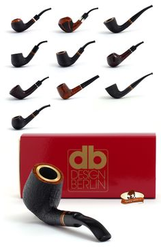 Dýmky Design Berlin - Design Berlin Pipes