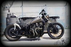 joey's vlx600 bobber | tail end customs