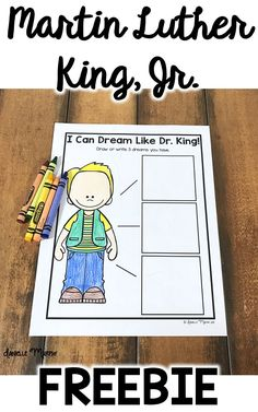 Martin Luther King, Jr. Day Freebie!