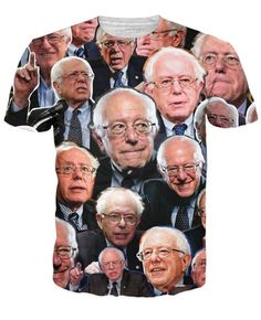 Feel the Bern with this Bernie Sanders Paparazzi T-Shirt! This all-over-print tee is the perfect way to show your support for the popular Democratic candidate, GET YOURS TODAY ONLY ON RAGEON.COM  #ADD --https://www.rageon.com/products/bernie-sanders-paparazzi-t-shirt?aff=HLnC