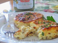 Welcome Home Blog: Artichoke Flans