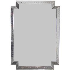 Monumental Venetian Mirror circa 1940's   From a unique collection of antique and modern wall mirrors at http://www.1stdibs.com/furniture/mirrors/wall-mirrors/