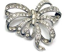 diamond bow brooch - Google Search