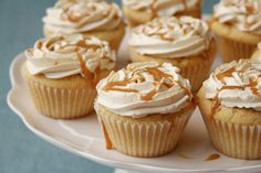 Dulce de Leche Cupcakes Recipe - Cupcake Daily Blog - Best Cupcake Recipes .. one happy bite at a time! Chocolate cupcake recipes, cupcakes