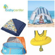 """BabyCenter.com: 12 Summer Products That Make Your Baby's Beach Day Safer.  """"If you have the right gear and plan ahead, a beach day is really fun and safe for everyone – even your infant...By the way, many of these summer products can be used in other sunny settings, like the pool, deck, splash pad or playground.  Check out these great products that I have found made my summer days simpler and more safe.."""""""