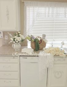 My Shabby Chic Home ~ Romantik Evim ~Romantik Ev: My shabby chic kitchen-shabby chic mutfagim