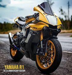 Yamaha Motorcycles, Yamaha Yzf R1, R15 Yamaha, Moto Bike, Motorcycle Bike, Motorcycle Wallpaper, Zx 10r, Super Bikes, Street Bikes