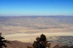 Idyllwild-Pine Cove  Desert Hot Springs & Little San Bernardino Mtns from Mount San Jacinto