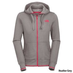 The North Face Womens Logo Stretch Full-Zip Hoodie - Gander Mountain