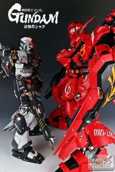 GUNDAM GUY: G-System 1/72 MSN-04 Sazabi Ver. Evolve 2.0 - Painted Build