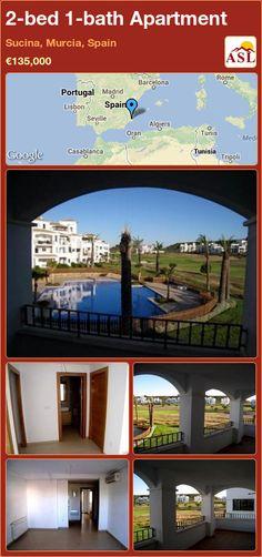 2-bed 1-bath Apartment in Sucina, Murcia, Spain ►€135,000 #PropertyForSaleInSpain