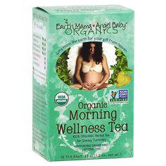 Earth Mama Angel Baby Organic Morning Wellness Tea - 16 ea