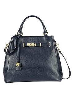 Italian Leather Large Grab Bag - The ultimate in feminine chic, this stunning grab bag is made from grained Italian leather and will have you turning heads! With on-trend strap and metallic hardware detail, it also features a zip fastening, internal pockets and an optional shoulder strap. #Fashion #Style #Kaleidoscope #LoveToBeDifferent