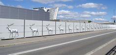 Au Danemark, un artiste transforme un mur de 271 mètres en flipbook géant