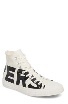 huge discount e5438 db210 CONVERSE ONE STAR WORDMARK HIGH TOP SNEAKER.  converse  shoes