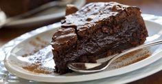 Recette de Fondant au chocolat noir et fromage blanc 0% sans matières grasses. Facile et rapide à réaliser, goûteuse et diététique.