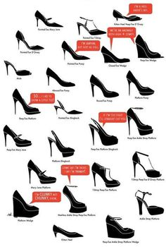 Shoes chart