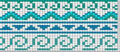 Tricksy Knitter Charts: waves