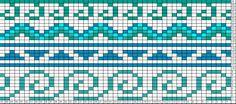 Tricksy Knitter Charts: waves