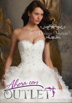 53f2b13aa Divinos vestidos de novia a un excelente precio! Hasta agotar existencias.  En Divino Vestido tel. (229)1302323 y 2022139. Visita  dgerencia Divino  Vestido ...