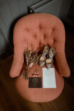 Glitter Wedding Shoes with Dried Flower Bouquet | By Paul And Nanda | Elegant Wedding | White Tuxedo for Groom | Black Tie Wedding | Hampton Court House Wedding Venue | Beautiful Bridal Gown | Elegant Bride | Bridal Accessories | Bridal Shoes | Wedding Shoes | Bride Shoes | Bridal Jewellery | Wedding Stationery
