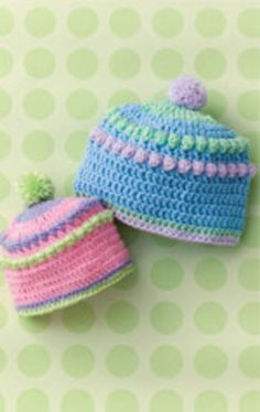 This hat pattern was available again in a compilation magazine, Crochet Today! Baby & Kids Book, Spring 2012.
