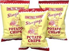 Sterzing Potato Chips made in Burlington, Iowa. YUM!