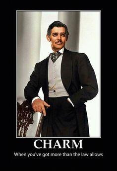 Rhett Butler -- swooooooon!
