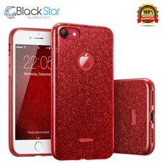 iPhone 7 Case, ESR Luxury Bling Bling Glitter Sparkle Designer Case Slim Fit  #ESR Black Star, Iphone 7 Cases, Slim Fit, Bling Bling, Designer, Phones, Tech, Boutique, Ebay