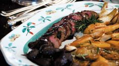 Swiss Roast venison (arrosto di cervo) recipe : SBS Food