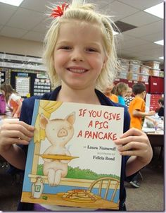 """So, apparently we LOVE Mrs. Schmelzer's site!  These are some of my kid's favorite books...and I love the Mommy version, """"If You Give a Mom a Muffin."""""""