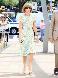 Anna Wintour At The 2014 Couture Council Award Luncheon Benefit Honoring Carolina Herrera