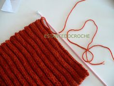 Estante do Croche: PAP GORRO TRICÔ CANELADO