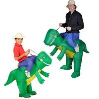 Lack of ideas for your next costume party?     	Then look no further than this inflatable costume