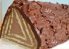 Торт без выпечки «Домик»