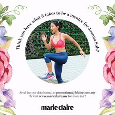 Joanna Soh shares her passion for fitness and leading a healthy lifestyle through her Youtube channel. Find out more on how to be her mentee in our website #women4women  via MARIE CLAIRE MALAYSIA MAGAZINE OFFICIAL INSTAGRAM - Celebrity  Fashion  Haute Couture  Advertising  Culture  Beauty  Editorial Photography  Magazine Covers  Supermodels  Runway Models